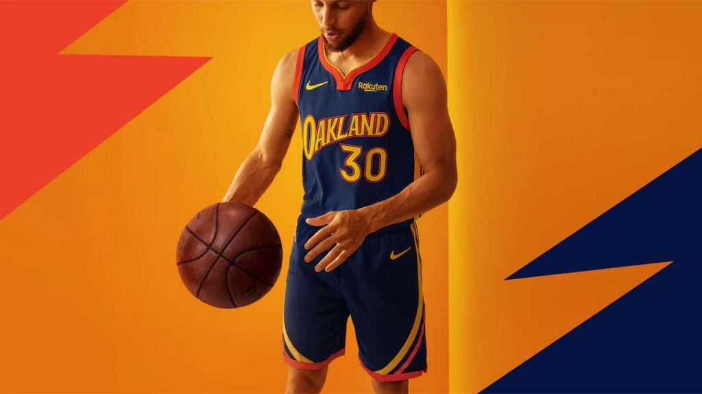 Curry Oakland jersey