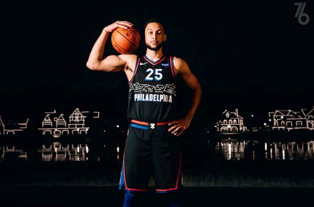 76ers city edition jersey