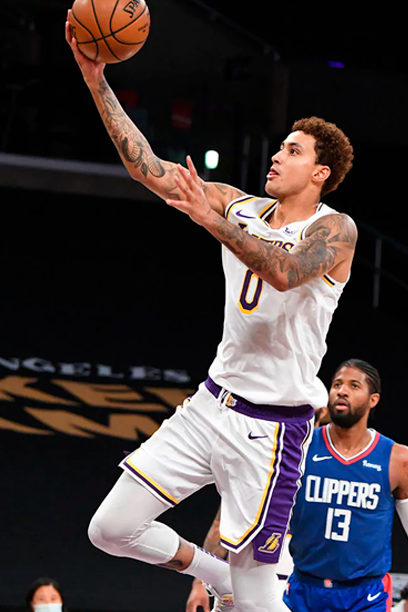 Kuzma extends his contract with the Lakers
