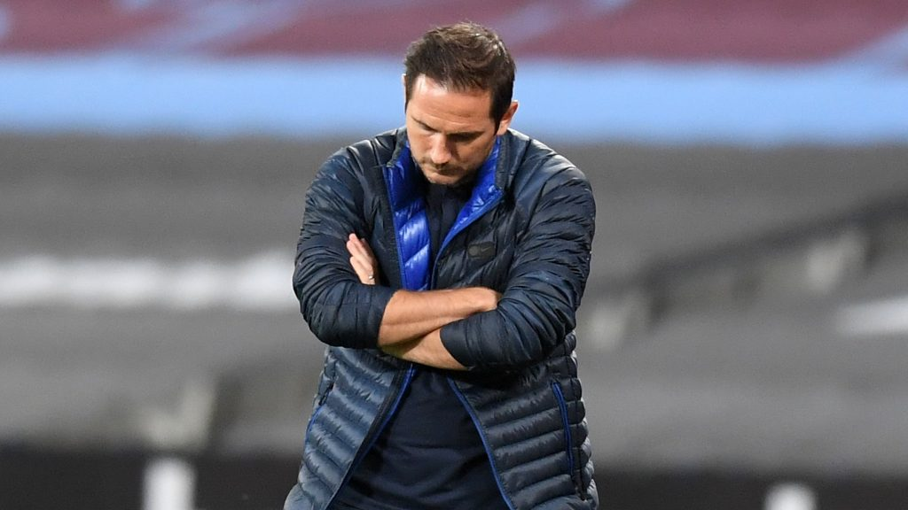 Frank Lampard shacked as Chelsea manager