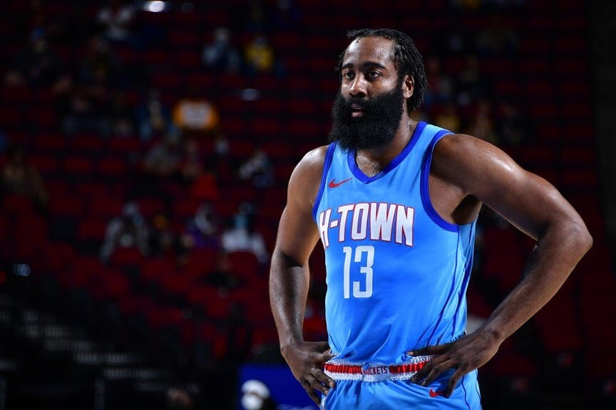Harden to the Nets