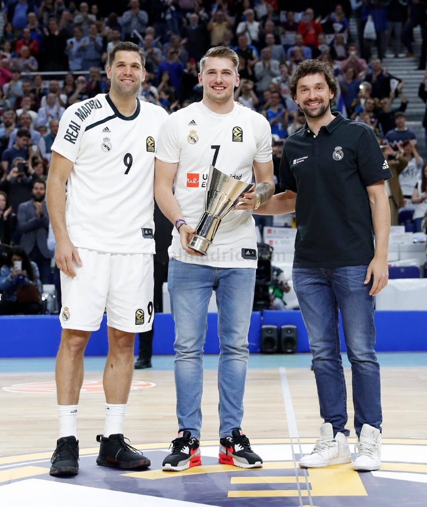 Luka Doncic Real Madrid Tribute
