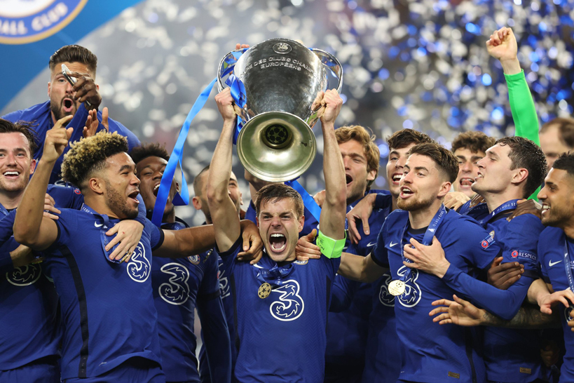 Chelsea win the Champions League