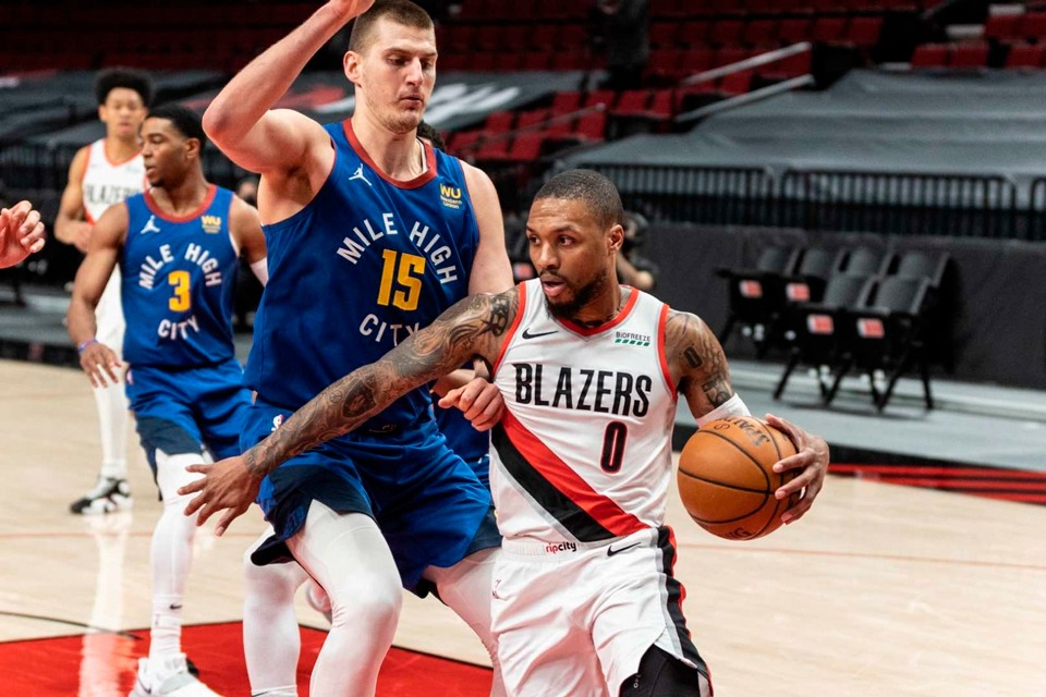 Denver Nuggets will face off the Trail Blazers in the NBA Playoffs