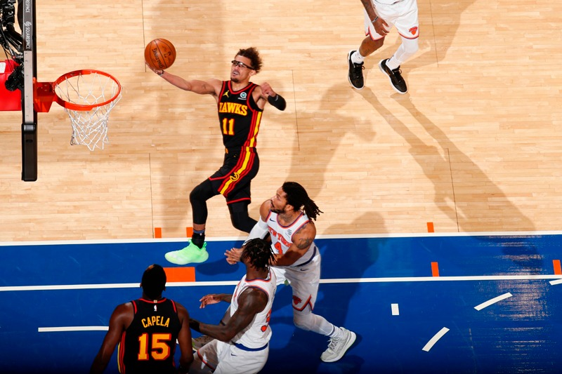 Atlanta Hawks will face off the New York Knicks in the Playoffs