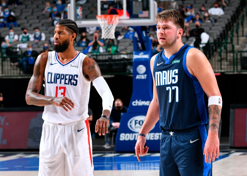 The Clippers will face off the Mavericks in the NBA Playoffs