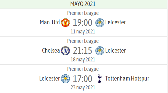 Leicester pending games