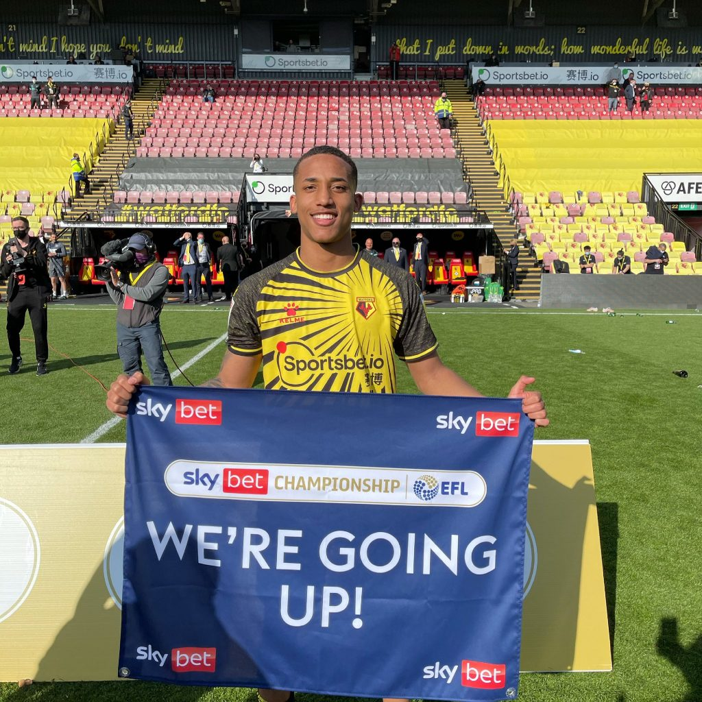 João Pedro promoted to the Premier League with Watford