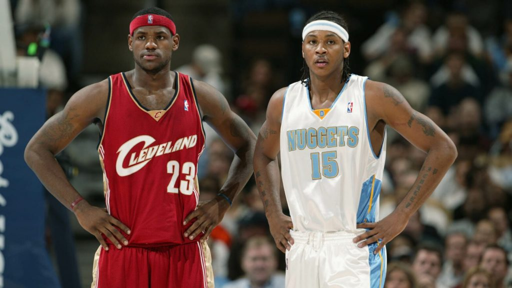 LeBron James and Carmelo Anthony will play together at the Lakers